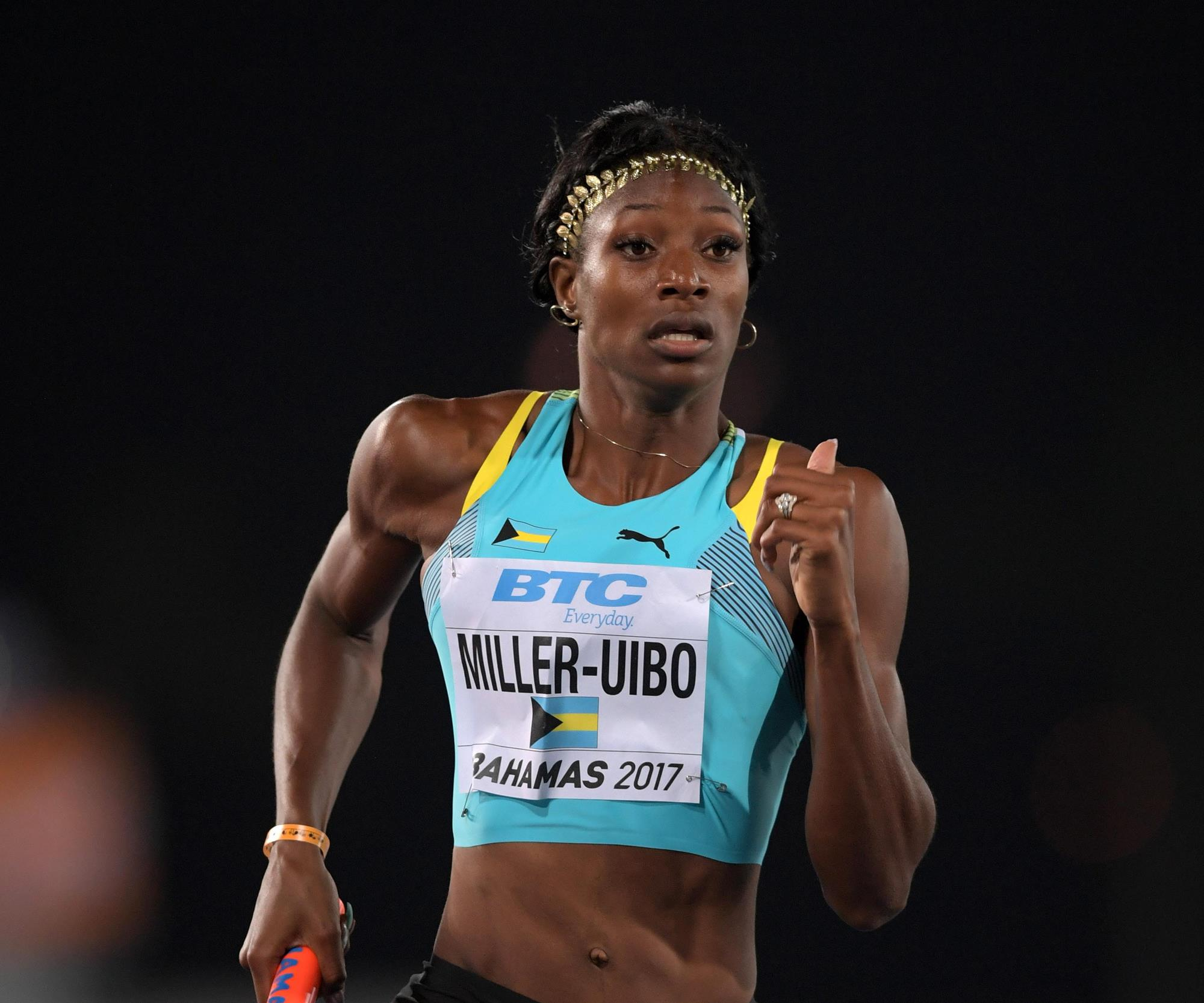 Shaunae Miller-Uibo (Photo from Georgia Sports Communication)